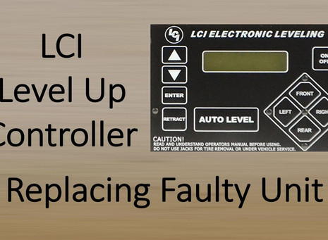 Replacing LCI Auto Level Controller
