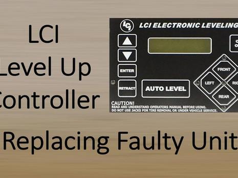Replacing LCI Auto Level Controller