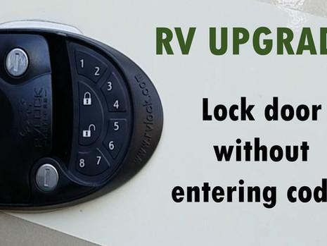 No Lock Code Needed - RVLOCK Upgrade!