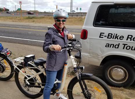 We Did An E-Bike Tour!!