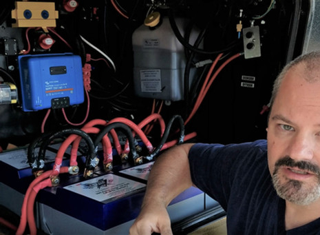 Battery Upgrade - 6 Battle Born Lithium Batteries