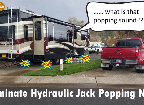 "Hydraulic Level Jacks ""Popping""??"