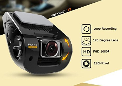 Rexing 1080p Dashcam