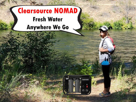 NOMAD Water Filtration - Boondockers Dream Come True