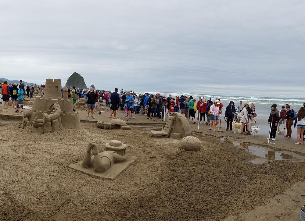 Great sandcastle