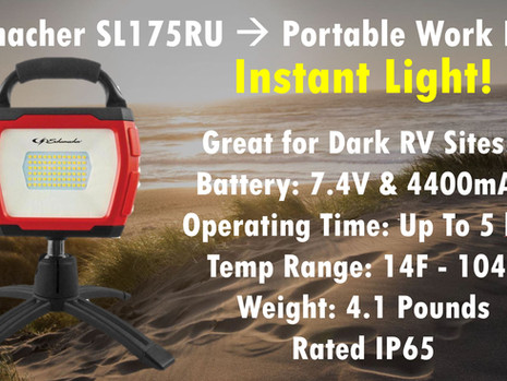 Powerful & Portable 72 LED Work Light