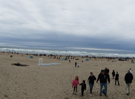 Cannon Beach Sand Castle Contest