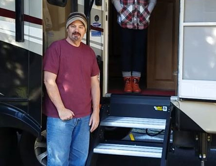 RV Upgrade - Lippert Solid Steps  - WOW!!