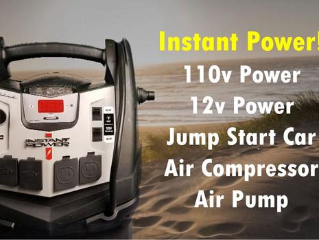 Create AC Power - Pump Tires - Jump Start Car