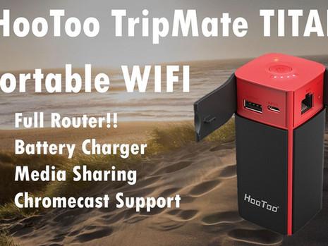 HooToo TripMate - Portable Router & Media Server