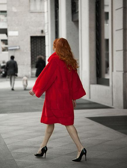 DICARA, fur fashion, luxurious furs, greek fur