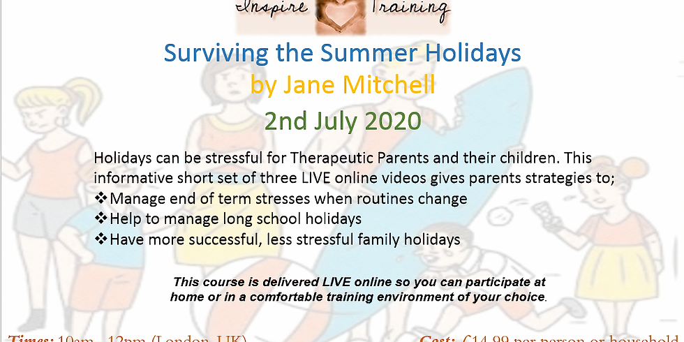 Surviving the Summer Holidays with Jane Mitchell
