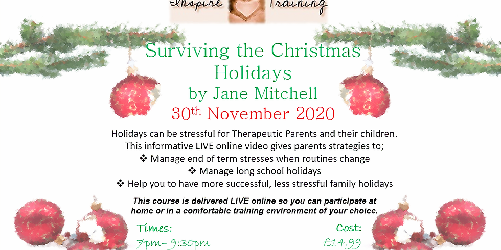 Surviving the Christmas Holidays with Jane Mitchell