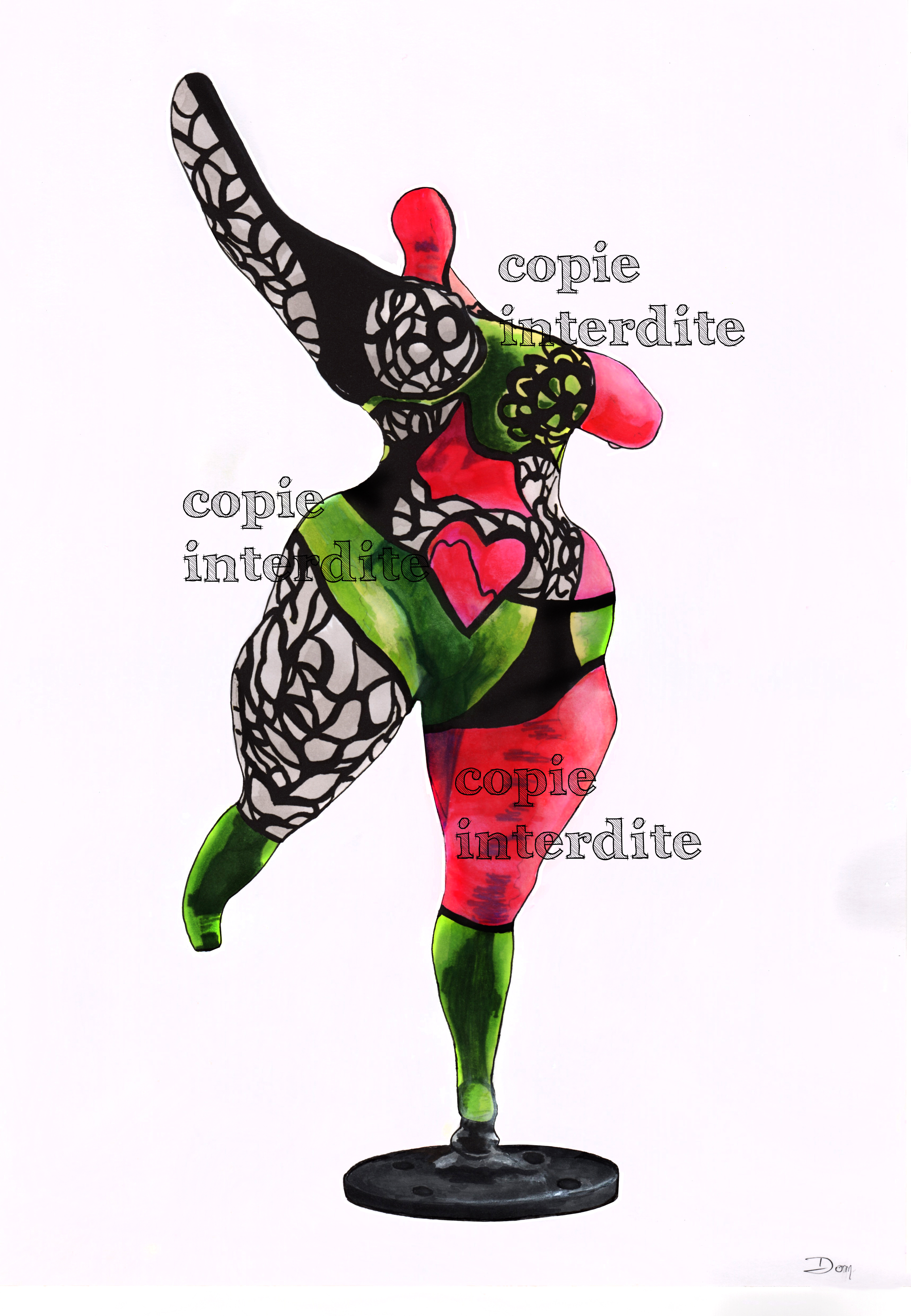 Statue Niki de St Phalle
