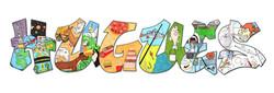 lettres graffiti détails