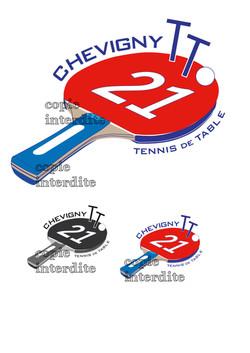 projet logo tennis de table