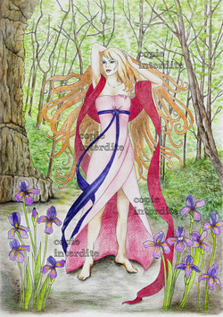 La fée aux iris