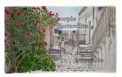 village d'Italie couleur