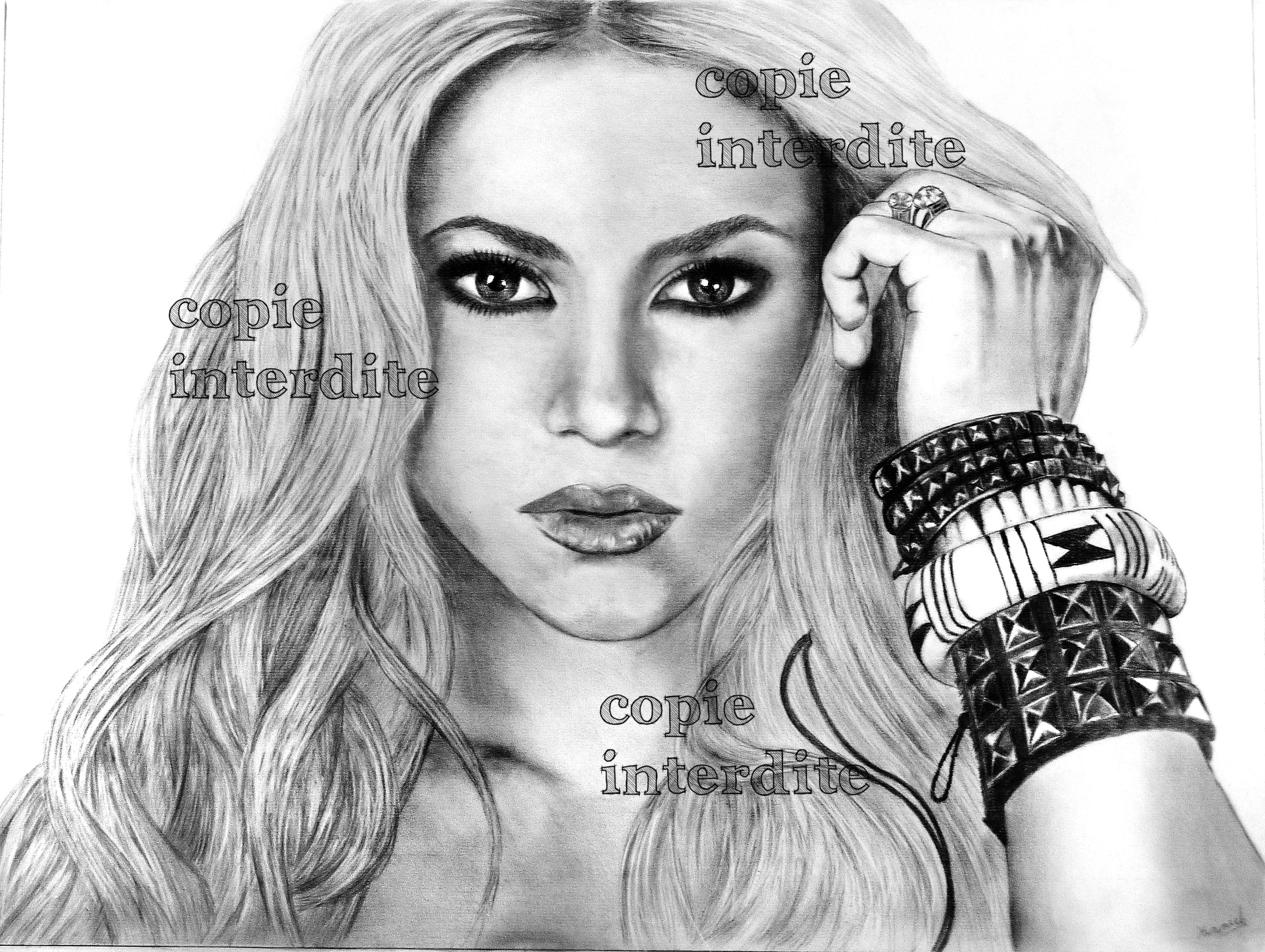 Portrait Shakira