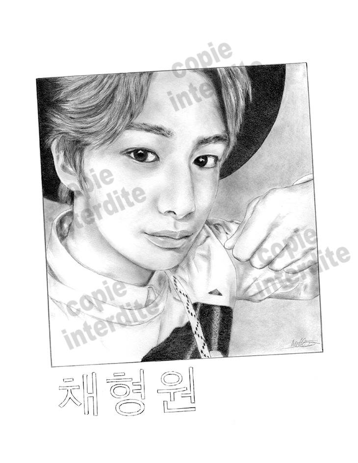 portrait chanteur coréen