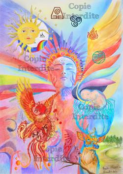 Soleil Lune et symboles