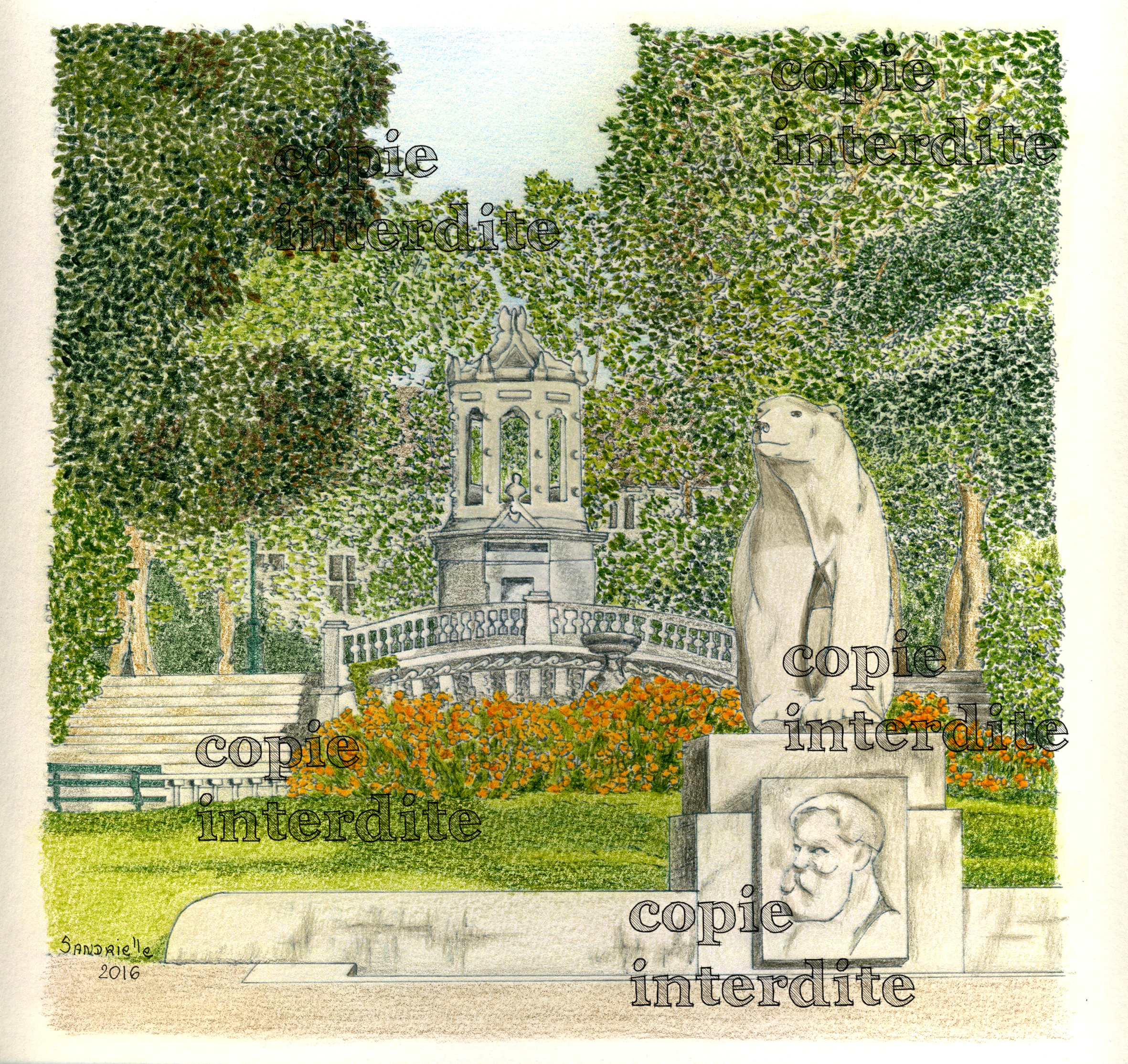 Jardin Darcy printemps
