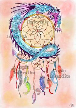Attrape-rêve dragon
