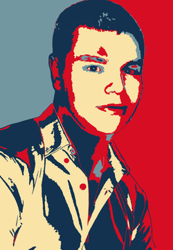 visage 4 couleurs