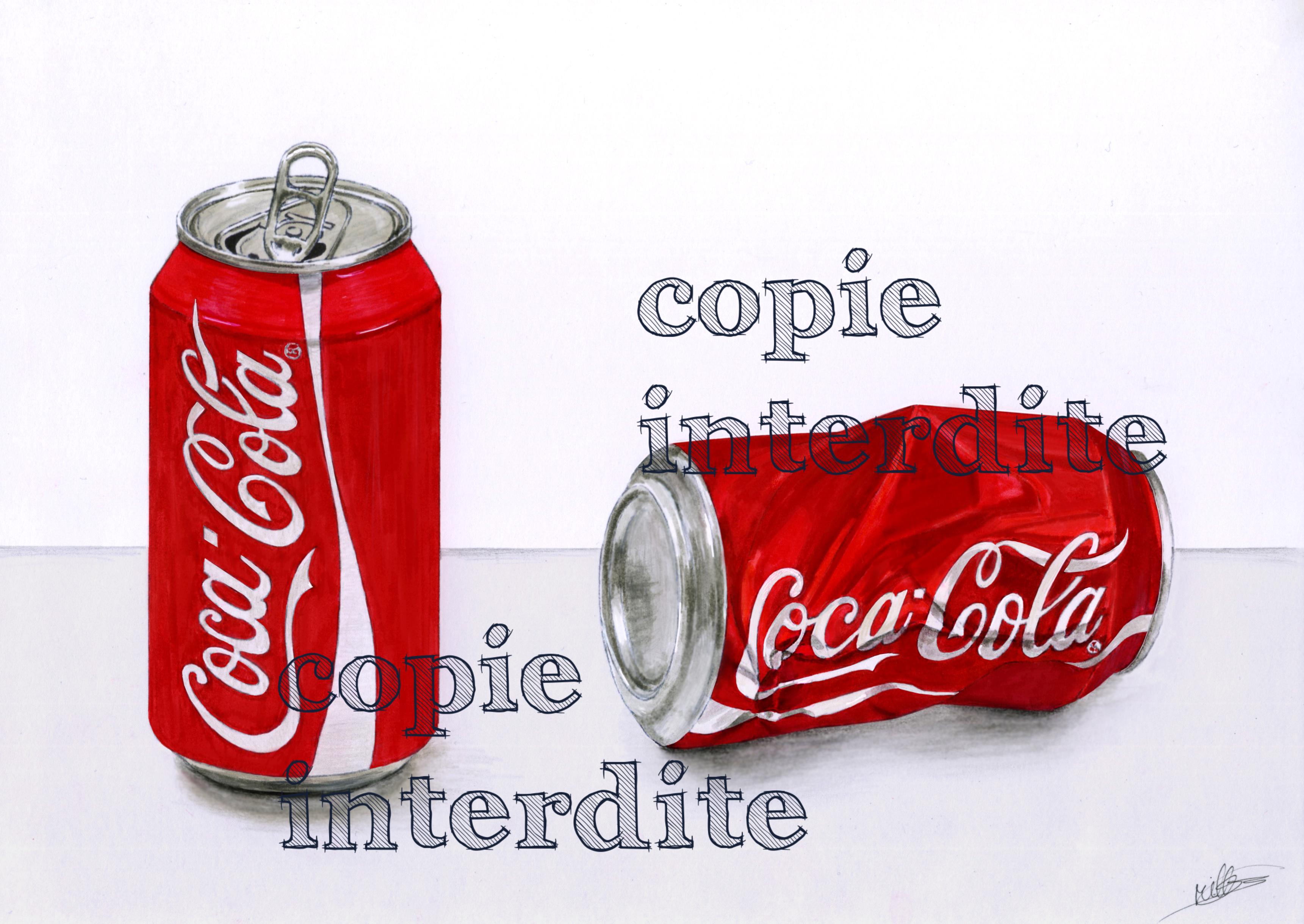 Canettes Coca'Cola
