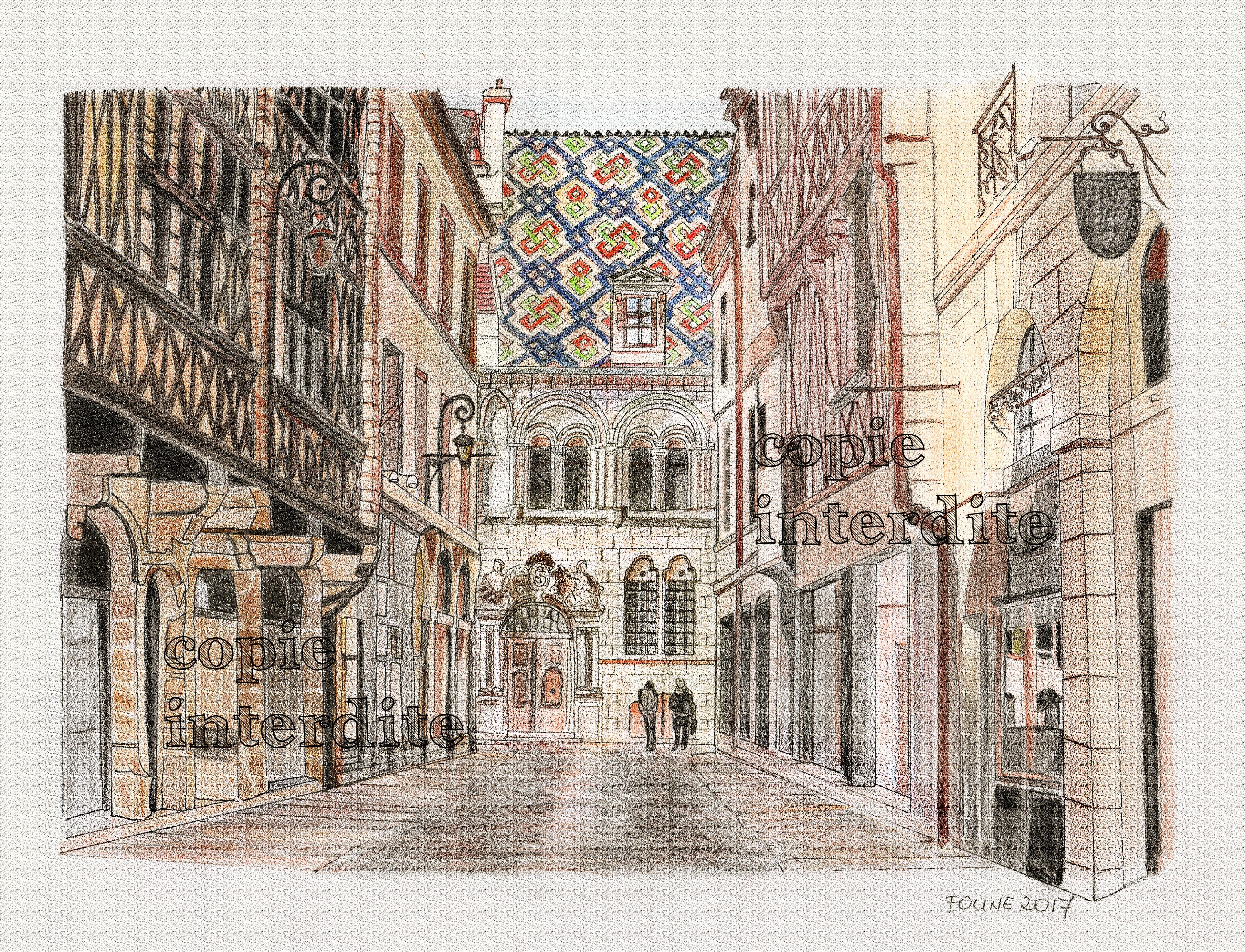 rue Stephen Liegeard à Dijon