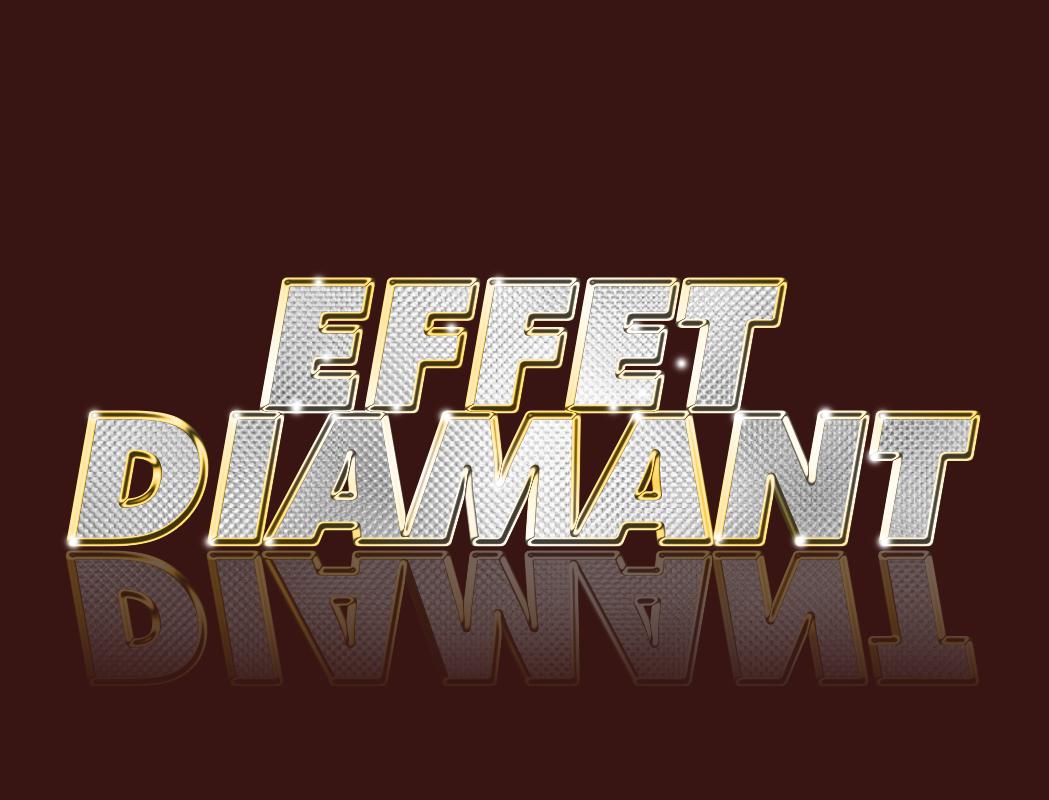 lettres diamant