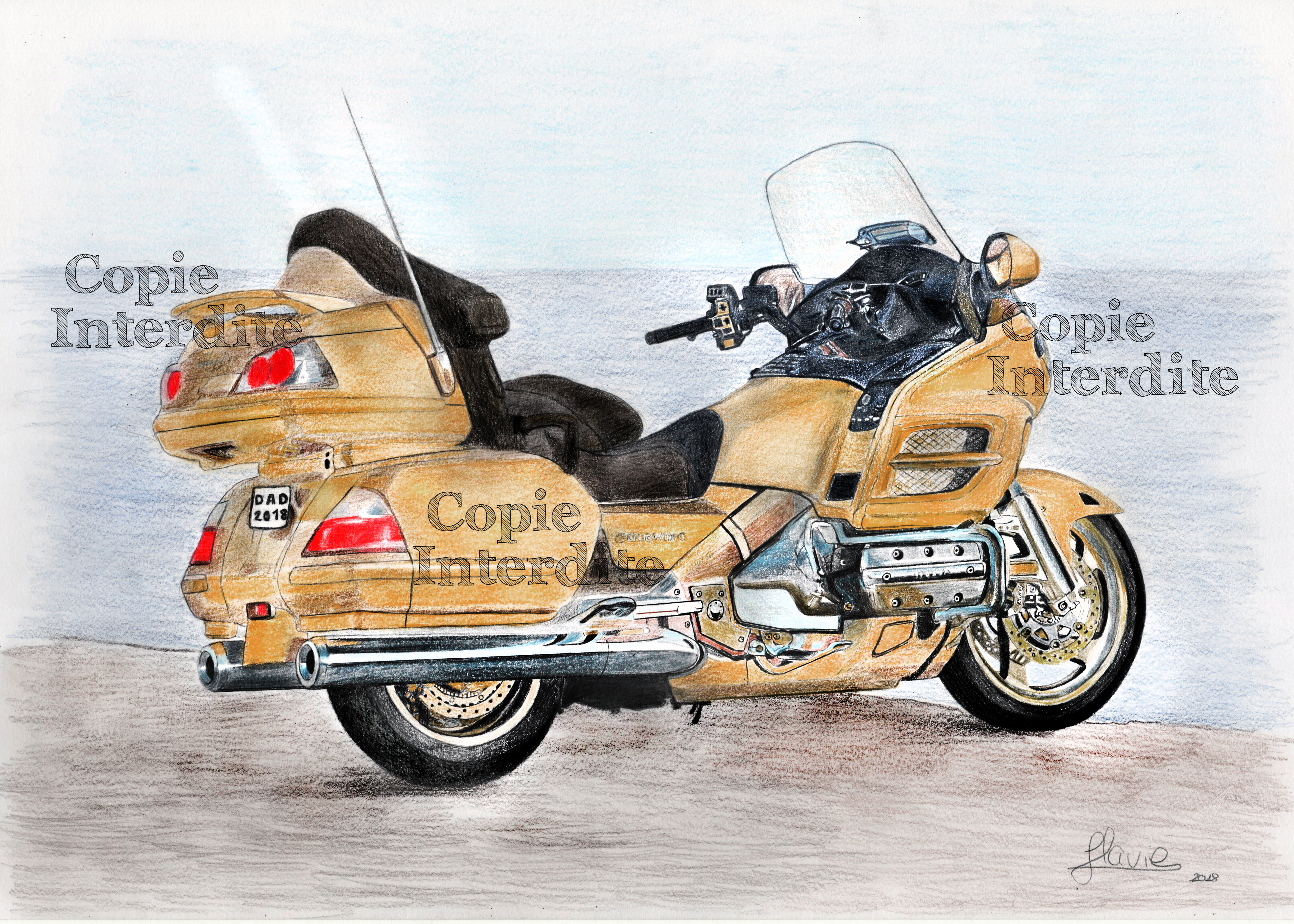 moto Goldwing