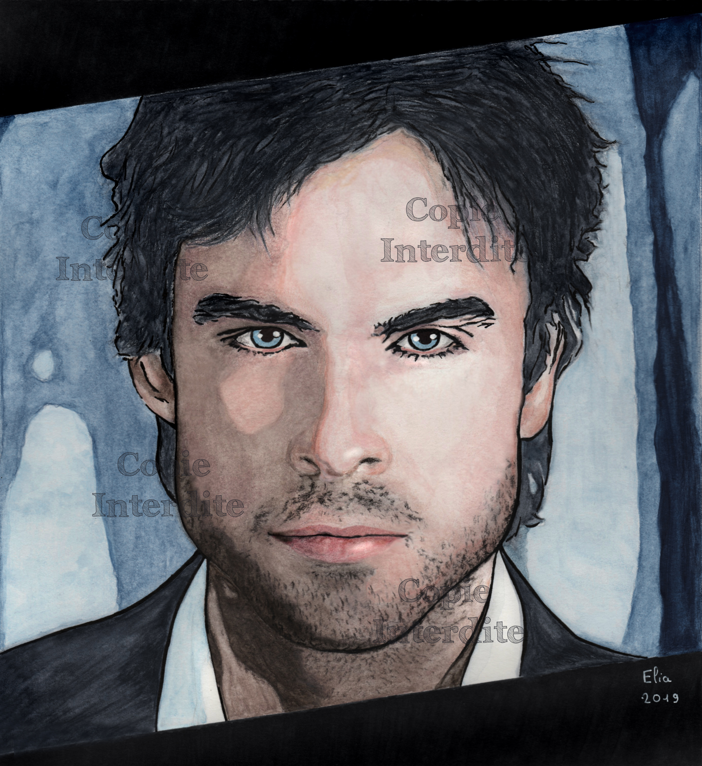 portrait style BD