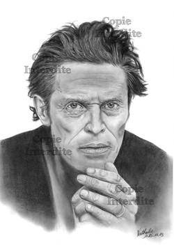 portrait Willem Dafoe