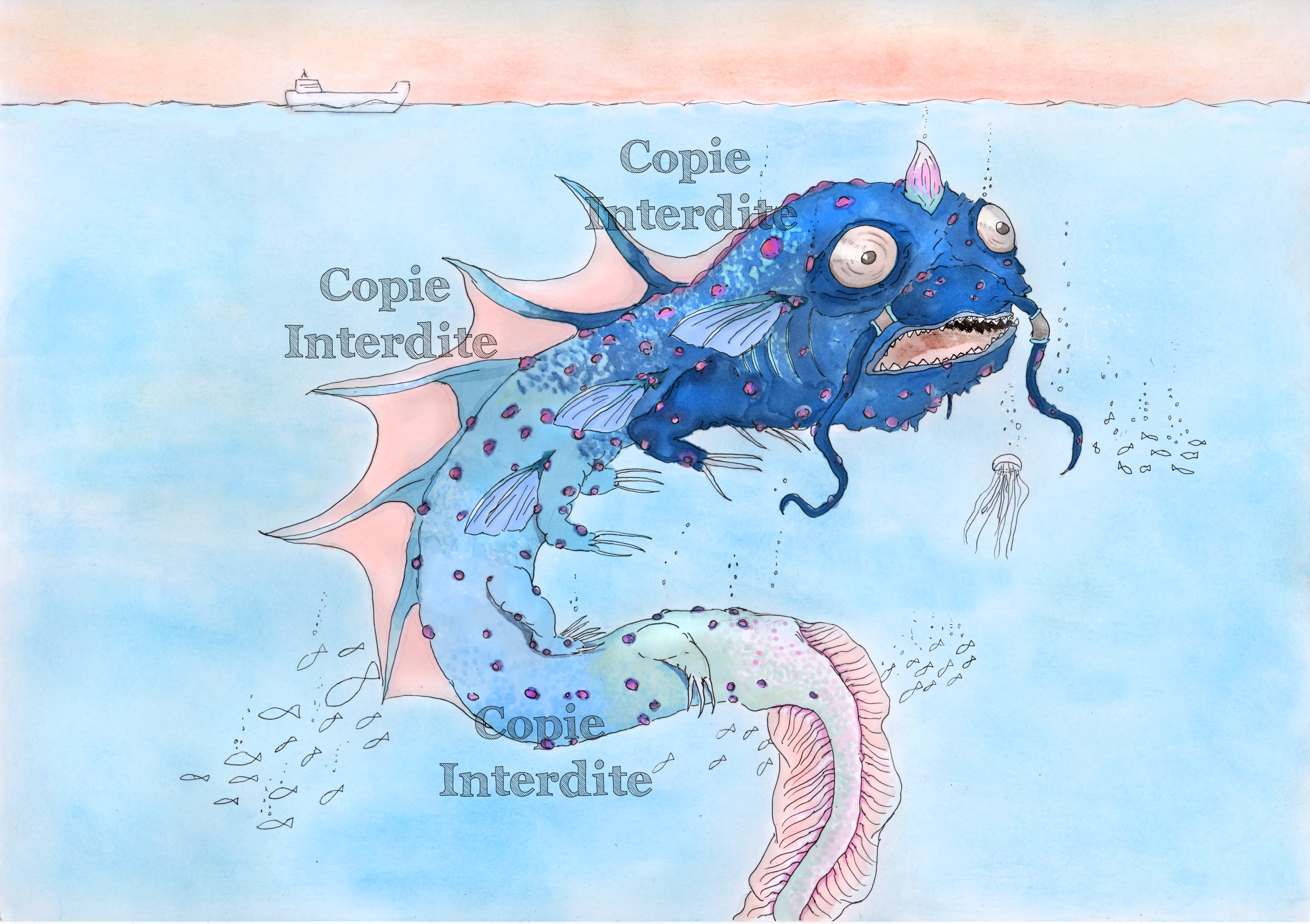 créature marine