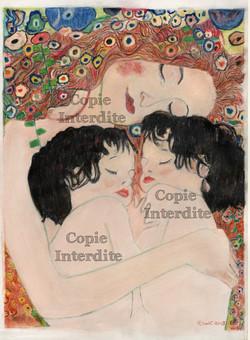 reproduction style Klimt