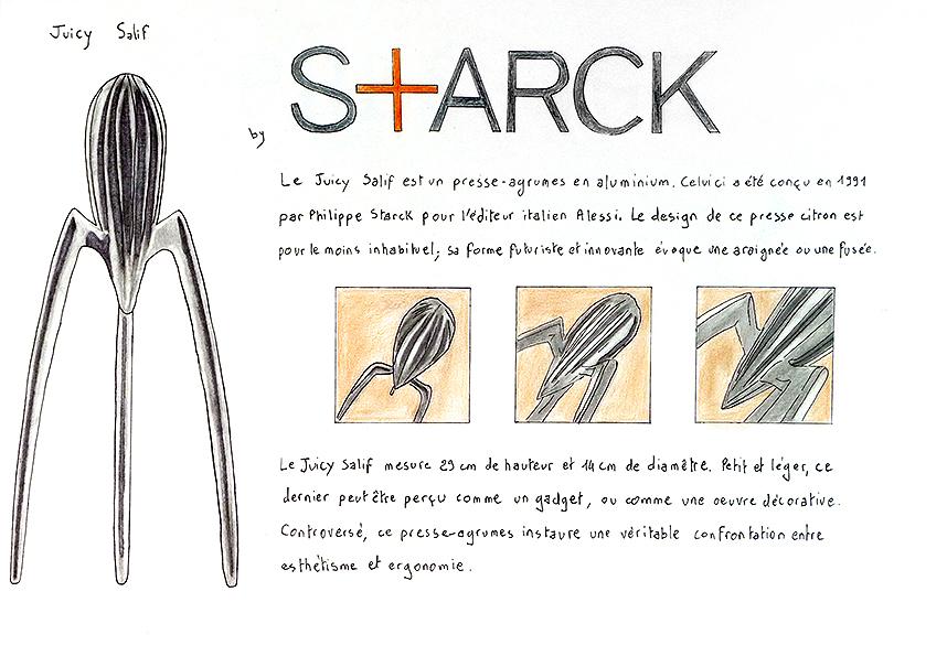 projet étude sur Starck