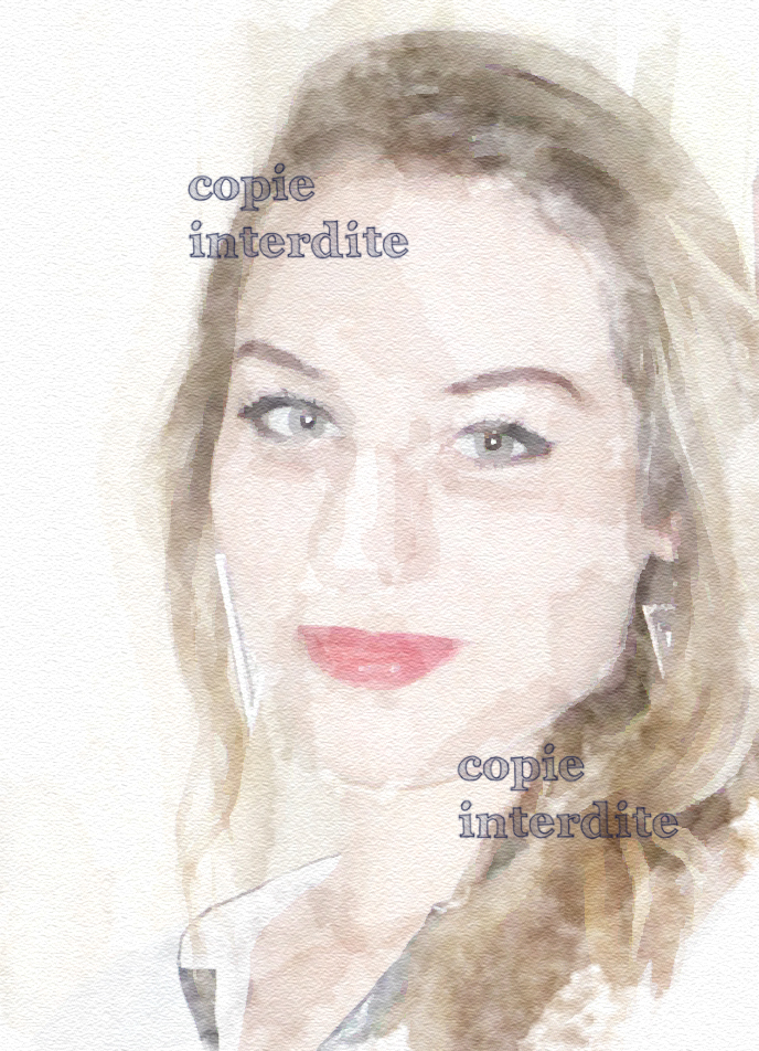 "portrait ""aquarelle"""