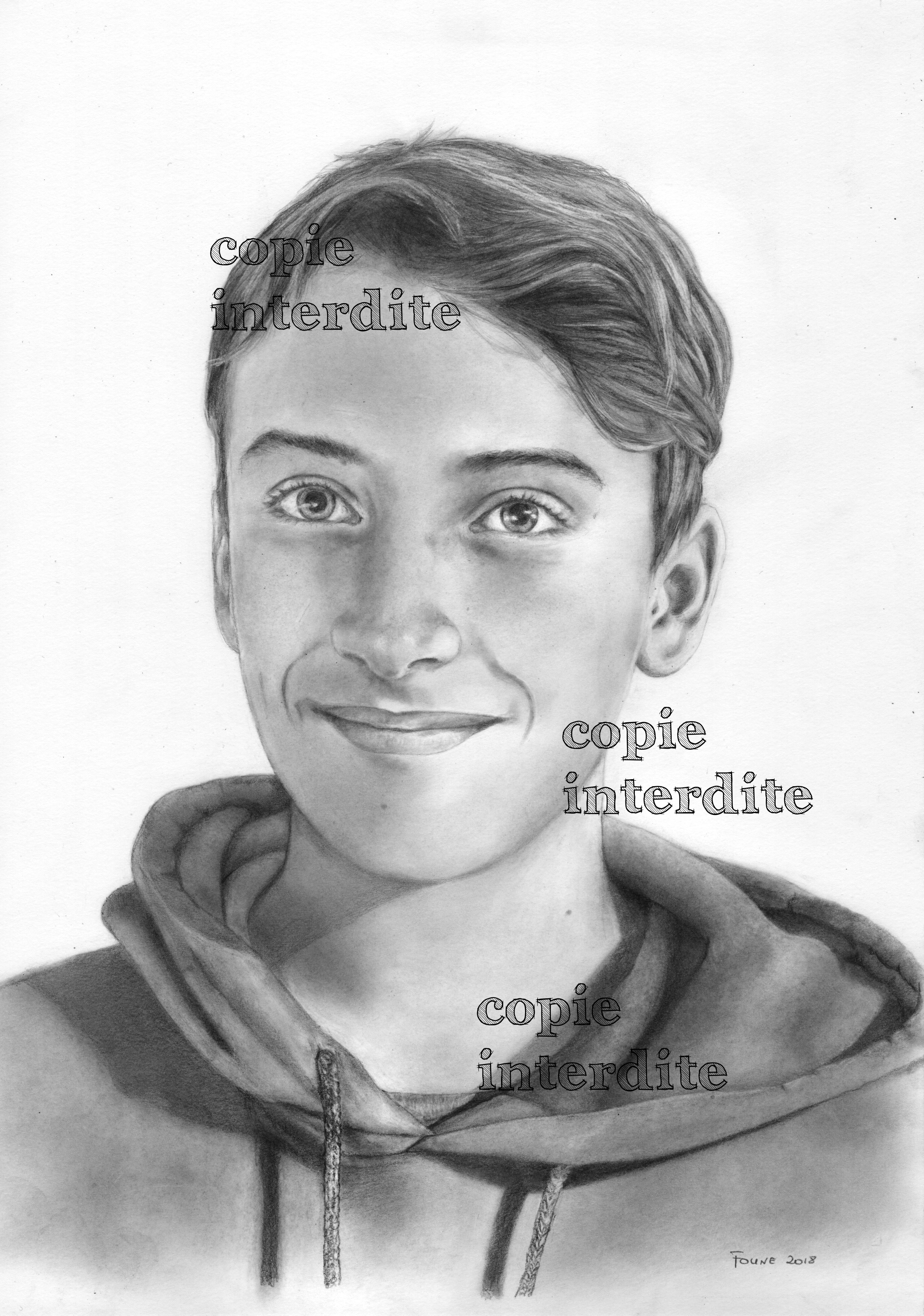 Portrait jeune-homme