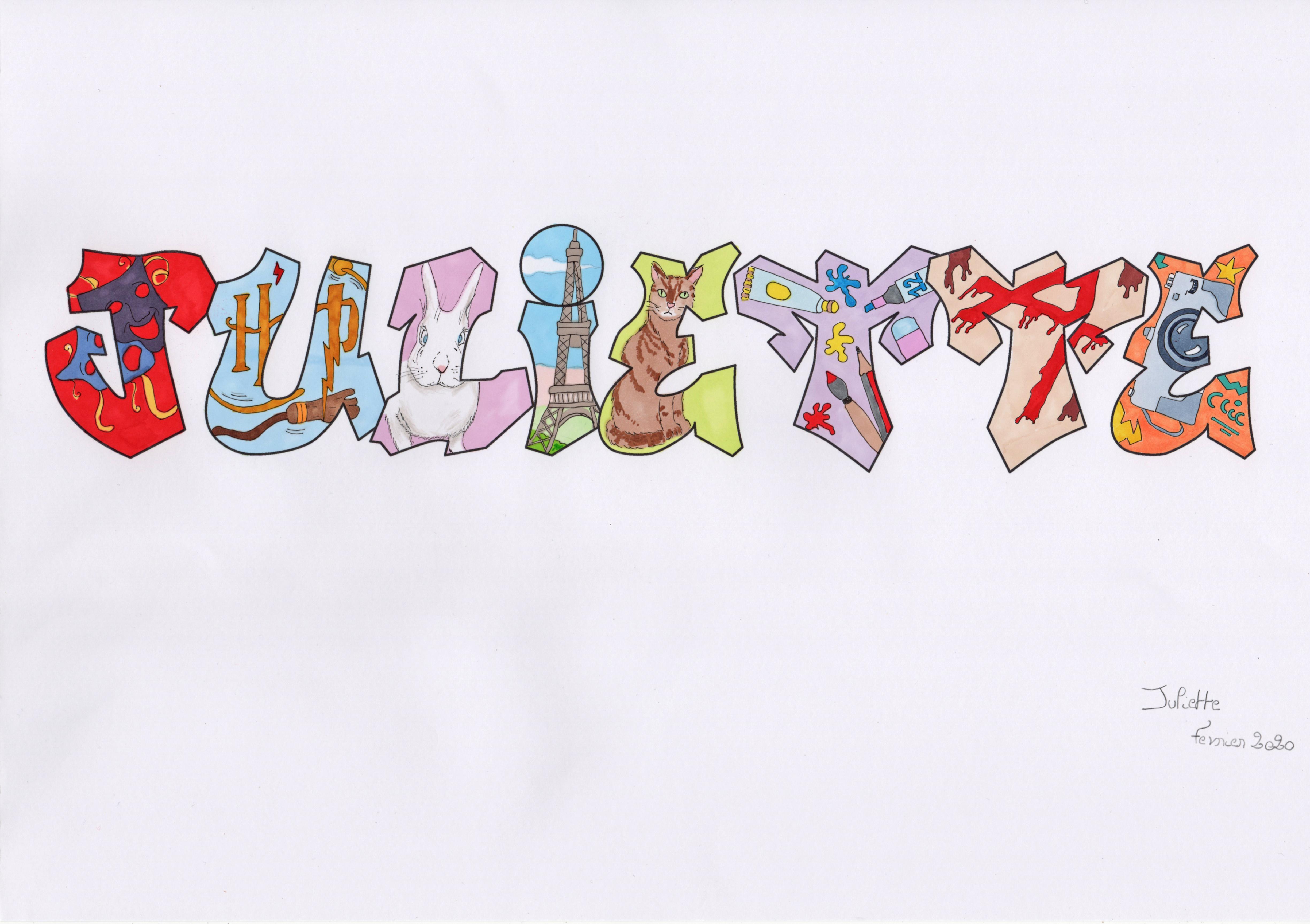 lettres graph