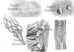 Etudes de textures