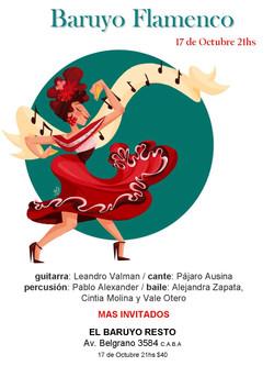 2013 - Baruyo Flamenco
