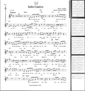 Indio Cautivo - Santos de Jesús Vizcaìno Visbal