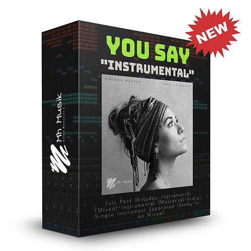 You Say | by Lauren Daigle (Full Instrumental Pack)