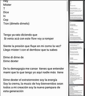 Dexter - Anthony Sánchez / Juan Bracho / Julio Chirinos