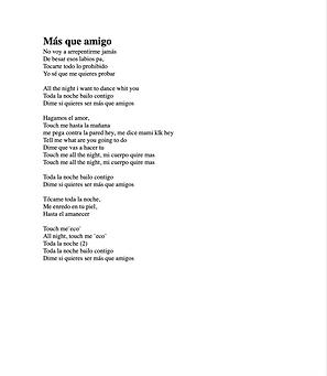 Más Que Amigos - María Vicenia Alvarez