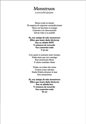 Monstruos - Lucia Judith Quijano