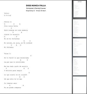 Dios Nunca Falla - Clariely Noemi Cuevas Medina