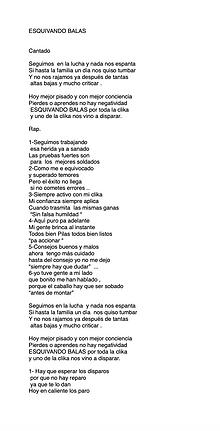 Esquivando Balas - Jesús Berrelleza