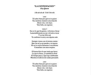 La Contestación - Yuleisy Elimar Soto Román